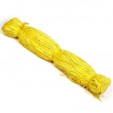Рафия натуральная , 100 г желтая