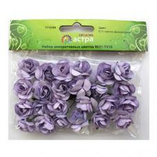 Набор декоративных цветов (E11 светло-фиолетовый)
