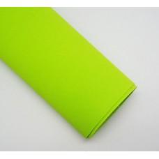 Фоамиран 60*70 см, 1 лист, жёлто-зеленый 30