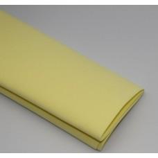Фоамиран 60*70 см, 1 лист, лимонный светл. 114-004