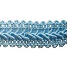 Тесьма вяз. отделочная 15мм*10м (голубой)
