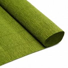 Бумага гофрированная, 180 гр, 17А/8 Оливковый зеленый от Тиффани Тернер