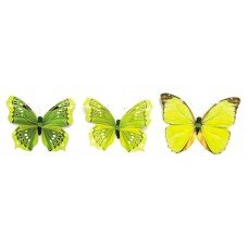 Бабочки, ассорти Glorex