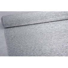 Бумага гофрированная металл, 180 гр, 802 серебряная (уценка)