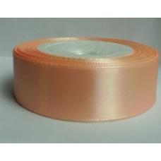 Лента 3,8 см атласная (8023 персиковый)