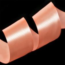 Лента 3,8 см атласная (8025 яр. розовый)