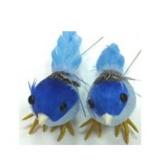 Украшение Птичка голубая