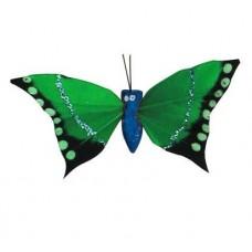 Бабочка-перо 0431-4201 (зелёная)