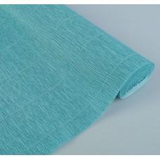 Бумага гофрированная, 180 гр, 17Е/3  тиффани голубая