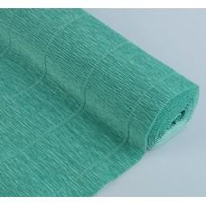 Бумага гофрированная, 180 гр, 17Е/4  тиффани зелёная