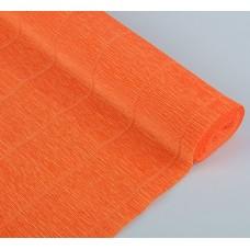 Бумага гофрированная, 180 гр, 17Е/6 ярко-оранжевая