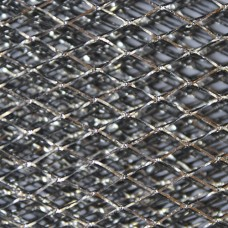 Сетка для творчества, цв. черный-серебро, 50*80см, 24857