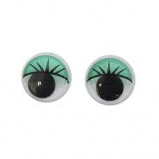 Глаза бегающие для игрушек 16мм