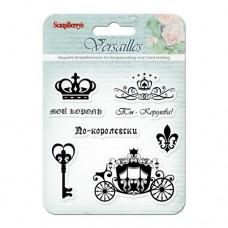 Набор штампов 10,5*10,5см Версаль. Король и Королева SCB4901003