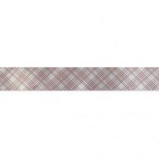 Лента атласная Пересечение, 25мм*22,5м (белый)