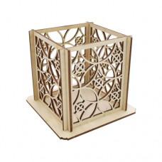 Деревянная заготовка Карандашница Круги