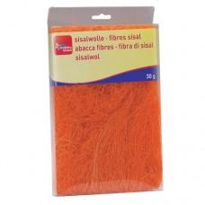 Сизаль, 30г, оранжевый Glorex
