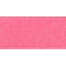 Лента 0,6см атласная (8050 т. розовый) 1м.