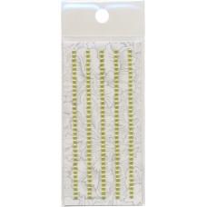 Декоративные наклейки Жемчуг, 3 мм, Астра (118311-25)
