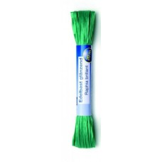 Рафия яркая 20м зеленый (искусственная) Glorex