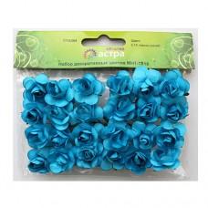 Набор декоративных цветов (E15 темно-синий)
