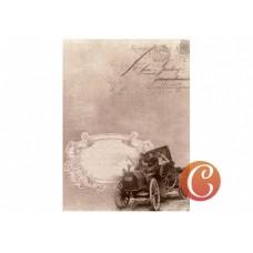 Декупажная карта формат А4 (В дорогу), арт. 013420