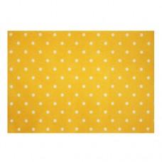 Фетр листовой декоративный Горох, 1 мм,  Астра (YF 640 желтый)