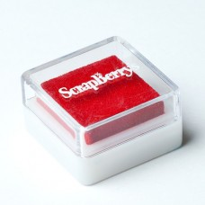 Чернила пигментные 2,5x2,5см SCB (21010001 красные)