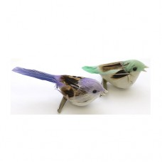 Птичка декоративная, цвет ассорти