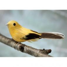 Украшение Птичка желтая