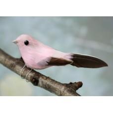 Украшение Птички розовые, SCB26002003