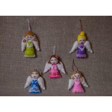 Игрушки из фетра Ангел