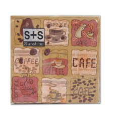 Салфетки  JLC-2PLY (кафе)